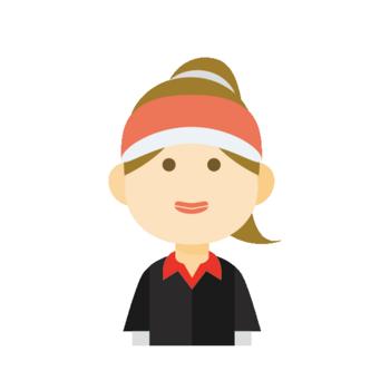 女子ゴルフ画像